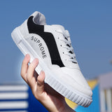 2019 New  color block  young Fashion Comfortable Low Shoes Low Shoes 13604-np