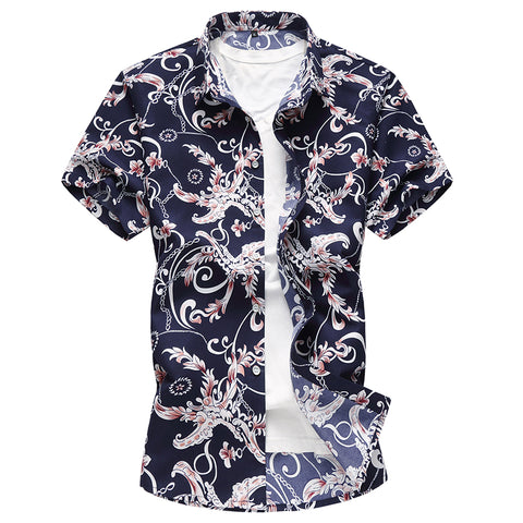 New Fashion  Letter Digital  young Fashion  Standard Shirts Shirts 14413
