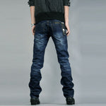 New Fashion  pure color young slim fit Jeans & Jeggings Jeans & Jeggings 14521-np