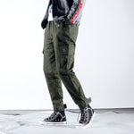New Fashion  Stripe  Fashion  loose Casual Trousers Casual Trousers 14592-np