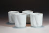 Set of 4 Porcelain Beakers
