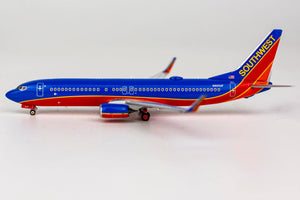1:400 NG Southwest Airlines B737-800/w N8650F Canyon Blue, Blended Winglets