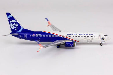 1:400 NG Alaska Airlines 737-800/w N570AS (with