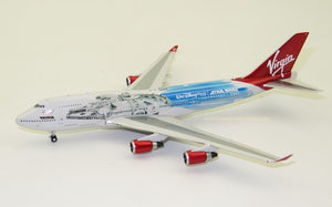 "1:400 VIRGIN ATLANTIC B747-400 G-VLIP ""Star Wars Galaxy's Edge"""
