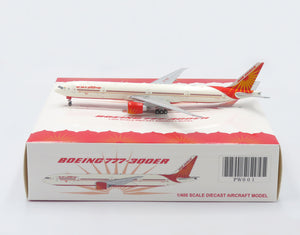 1:400 JC WINGS AIR INDIA B777-300ER VT-ALS [PRAIRIE DIECAST EXCLUISVE]
