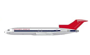 1:200 GEMINI JETS NORTHWEST ORIENT AIRLINES B727-200/Adv. N298US (polished)