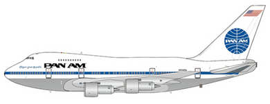 1:400 JC WINGS PAN AM 747SP N534PA