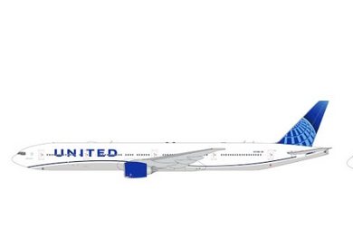 1:400 GEMINI JETS UNITED B777-300ER N2749U (new livery)