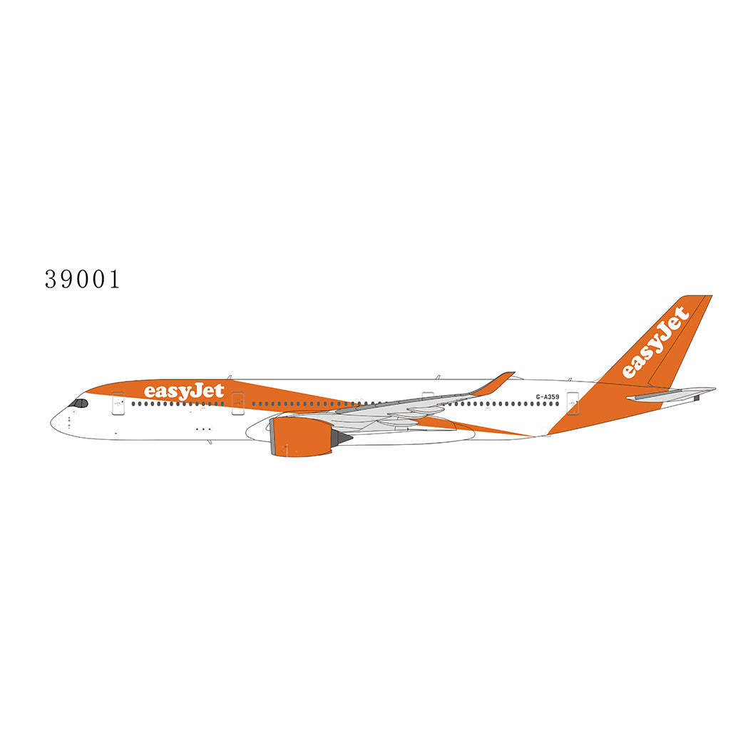 1:400 NG EasyJet Airline A350-900 G-A359
