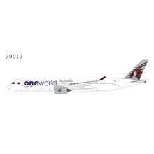 "Load image into Gallery viewer, 1:400 NG QATAR A350-900 A7-ALZ ""One World"""