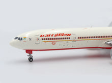 Load image into Gallery viewer, 1:400 JC WINGS AIR INDIA B777-300ER VT-ALS [PRAIRIE DIECAST EXCLUISVE]