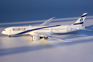 1:400 NG EL AL B787-9 4X-EDB NEW COLORS