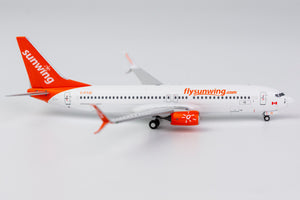"1:400 NG SUNWING B737-800/w C-FYJD ""n/c, scimitars"" [sold out, backorder for FEB]"