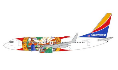 "1:400 GEMINI JETS SOUTHWEST B737-700 N945WN ""Florida One"""