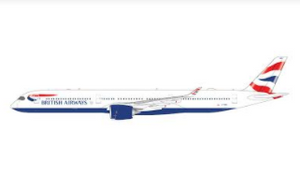 1:400 GEMINI JETS BRITISH AIRWAYS A350-1000 G-XWBC