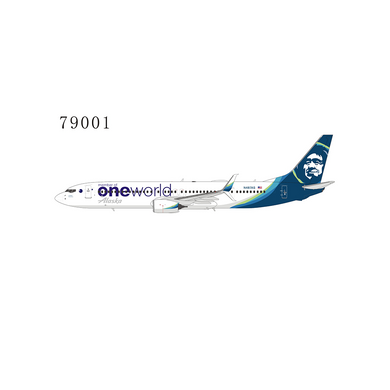 1:400 NG ALASKA B737-900ER/wN487AS