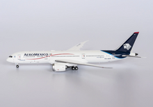 "Load image into Gallery viewer, 1:400 NG  AEROMEXICO 787-9 Dreamliner XA-ADG (named ""Guadalupe"")"