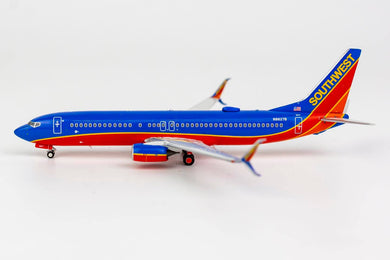 1:400 NG SOUTHWEST B737-800/w N8627B Canyon Blue, scimitar winglets