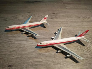1:400 DRAGON AIR CANADA x2 B747-233 C-GAGB/C-GAGA (2)