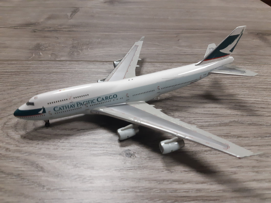 1:400 HERPA CATHAY PACIFIC CARGO B747-400 B-HOU