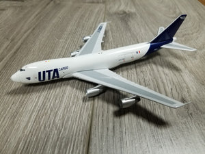 1:400 BIG BIRD UTA CARGO B747-200F F-GBOX