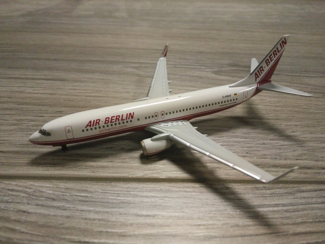 1:400 HERPA AIR BERLIN B737-800 D-ABAF