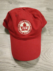 Hat TCA TRANS CANADA AIRLINES BALL CAP Red