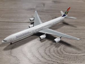 1:400 GEMINI SOUTH AFRICAN A340-600 ZS-SNB