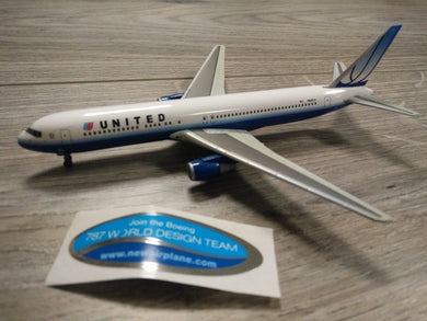 1:400 DRAGON UNITED B767-300 N649UA