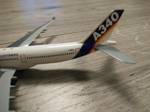 1:400 DRAGON HOUSE LIVERY A340 F-WWAI
