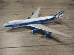1:400 JC WINGS AIR BRIDGE CARGO B-747-8F VQ-BGZ