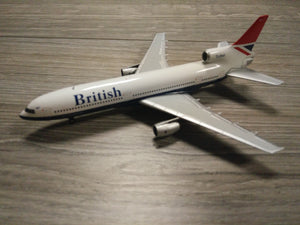 "1:400 GEMINI BRITISH AIRWAYS L-1011 G-BBAG ""NEGUS"""