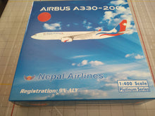 Load image into Gallery viewer, 1:400 PHOENIX NEPAL A330-200