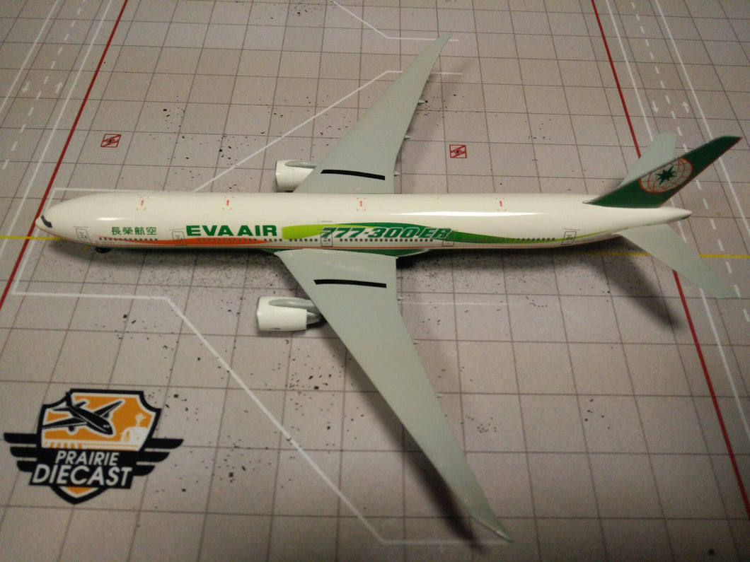 1:400 DRAGON EVA AIR B777-300ER B-16701