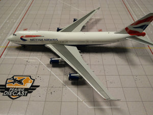 1:400 GEMINI BRITISH AIRWAYS B747-400 G-BYGF
