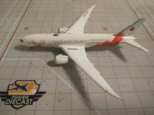 "1:400 JC JAL ANA B787-8 JA837J ""OLYMPIC TORCH RELAY"""