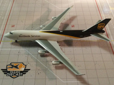 1:400 GEMINI JETS UPS B747-400 N752UP