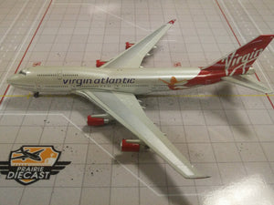 "1:400 GEMINI VIRGIN ATLANTIC B747-400 G-VFAB ""BIRTHDAY GIRL"""