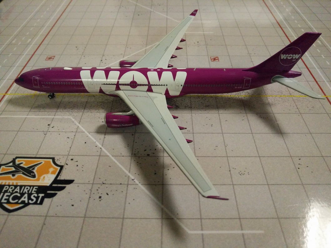 1:400 JC WINGS WOW A330-300 TF-GAY