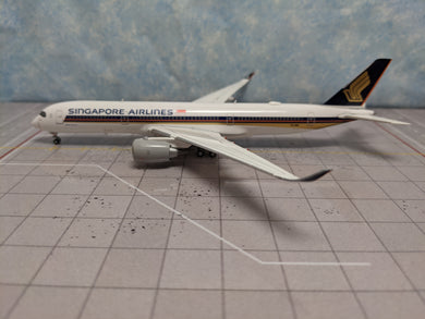 1:400 JC WINGS SINGAPORE AIR A350-900 9V-SMR