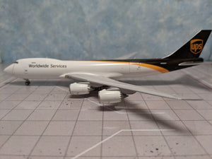 1:400 GEMINI JETS UPS B747-8F N606UP Interactive Series