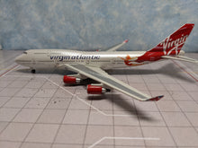 "Load image into Gallery viewer, 1:400 GEMINI VIRGIN ATLANTIC B747-400 G-VFAB ""BIRTHDAY GIRL"""