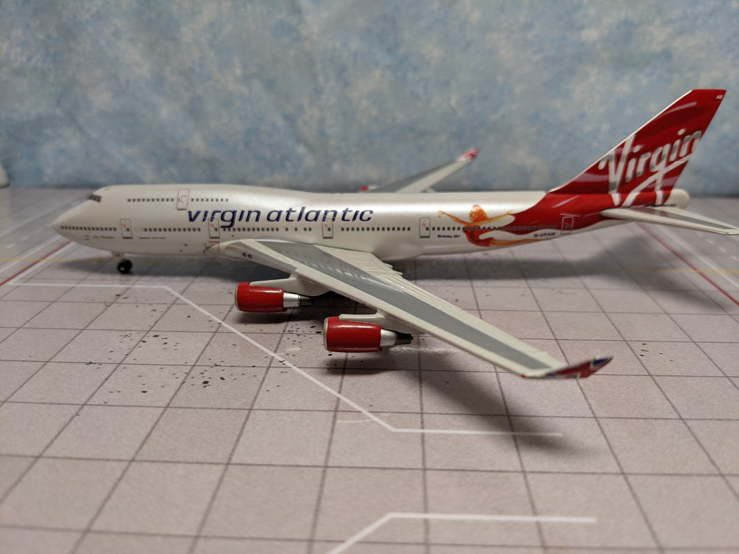 1:400 GEMINI VIRGIN ATLANTIC B747-400 G-VFAB