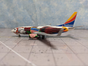 1:400 GEMINI JETS SOUTHWEST B737-700 N918WN 'ILLINOIS ONE'