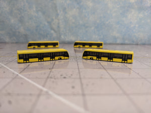 1:400 HERPA SCENIX AIRPORT BUS PACK OF 4