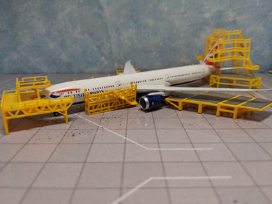 1:400 FANTASYWINGS GSE DUAL ENGINE MAINTENANCE SCAFFOLDING SET
