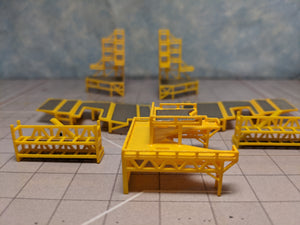 1:400 FANTASYWINGS GSE AIRPORT MAINTENANCE SCAFFOLDING QUAD ENGINE