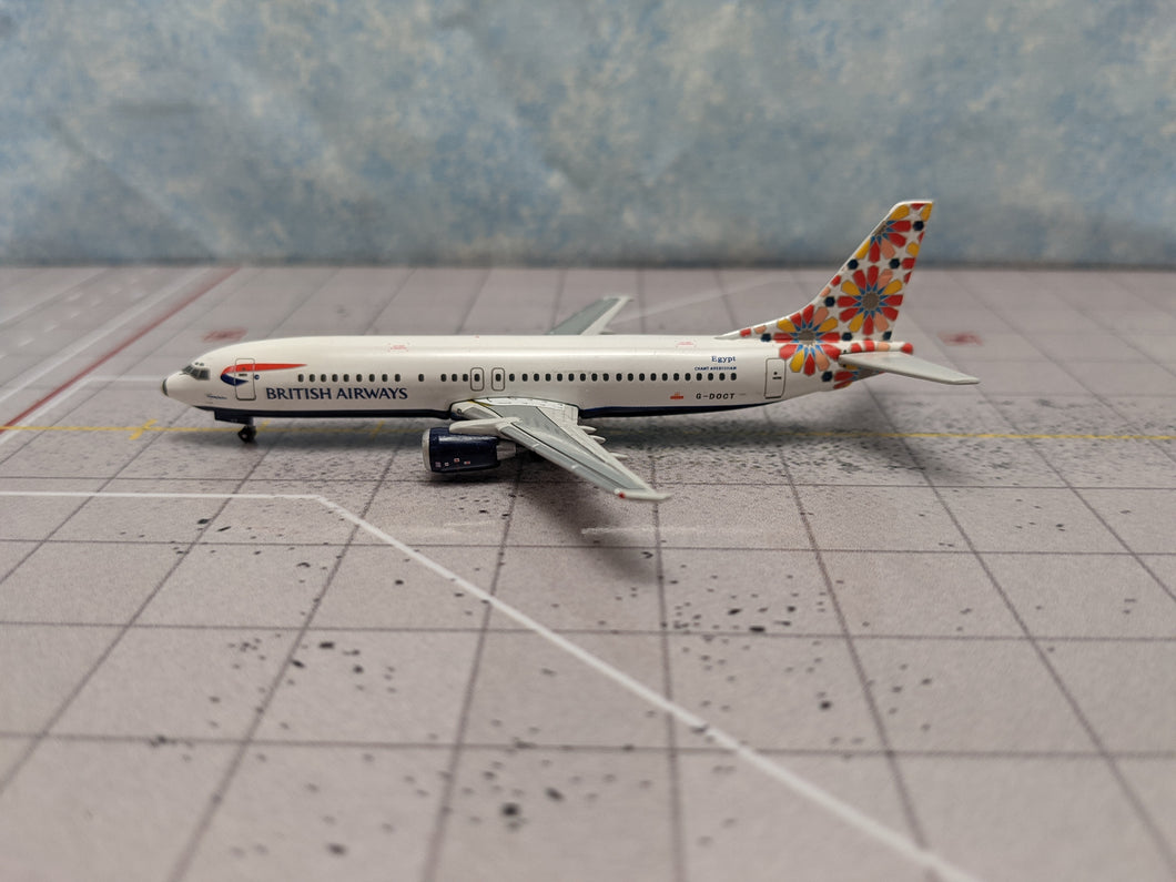 1:400 GEMINI BRITISH AIRWAYS B737-400 G-DOCT
