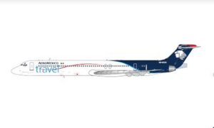 1:400 GEMINI JETS AEROMEXICO TRAVEL MD-83 N848SH