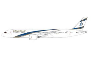 "1:400 GEMINI JETS El Al Israel Airlines B787-9 4X-EDM	""Jerusalem of Gold"""